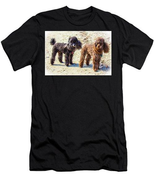 Windblown Beach Bums Men's T-Shirt (Athletic Fit)