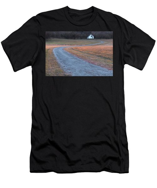 Winding Road Men's T-Shirt (Athletic Fit)