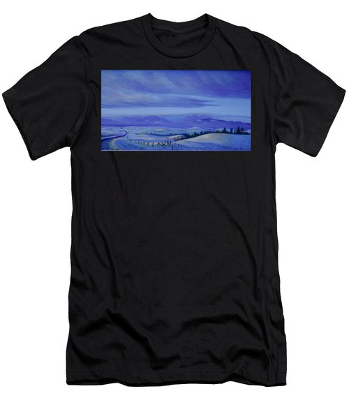 Winding Roads Men's T-Shirt (Athletic Fit)