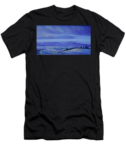 Winding Roads Men's T-Shirt (Athletic Fit)