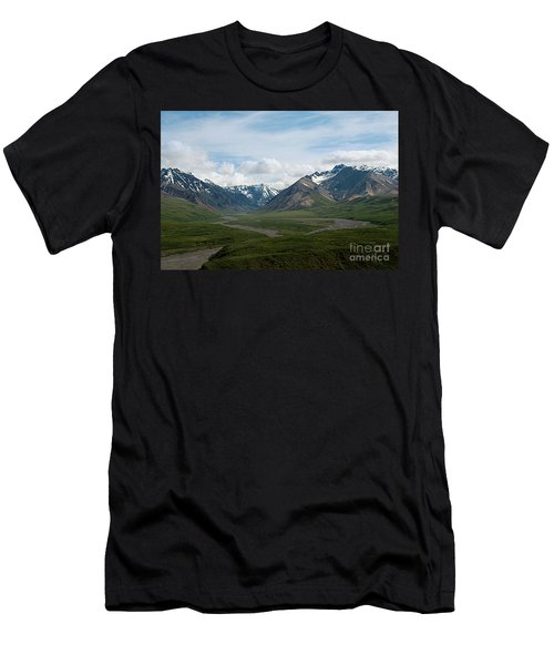 Winding Water Ways Men's T-Shirt (Athletic Fit)