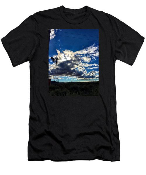 Windmill Lonely Men's T-Shirt (Athletic Fit)