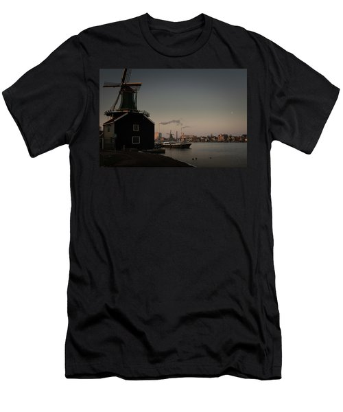 Windmill Town Men's T-Shirt (Athletic Fit)