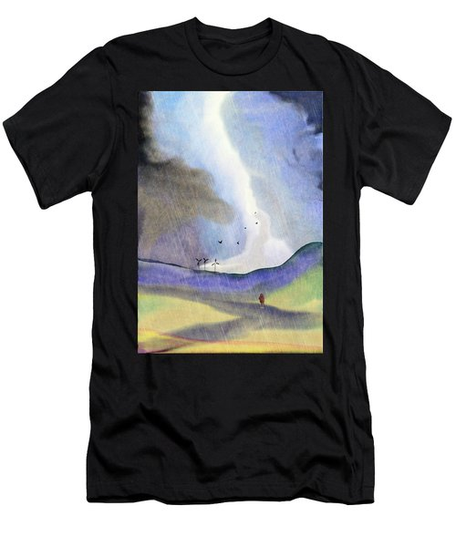 Windmills Of The Mind Men's T-Shirt (Athletic Fit)