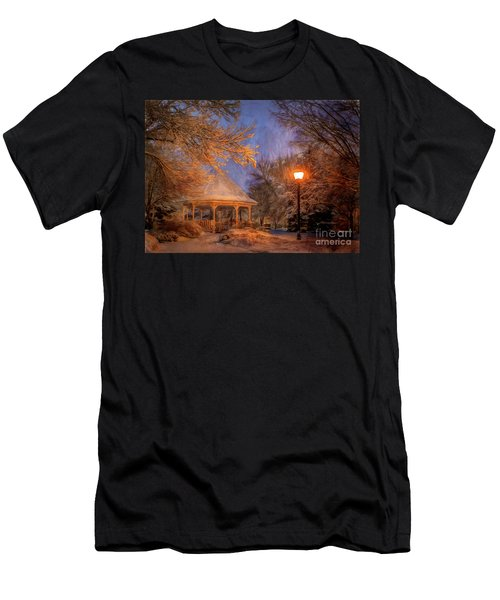 Windom Park Snowstorm Men's T-Shirt (Athletic Fit)