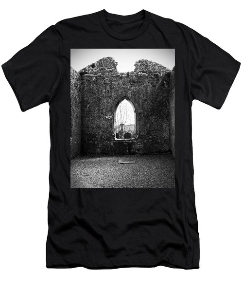 Window At Fuerty Church Roscommon Ireland Men's T-Shirt (Athletic Fit)