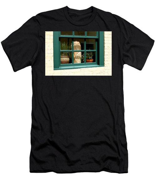 Window At Sanders Resturant Men's T-Shirt (Athletic Fit)