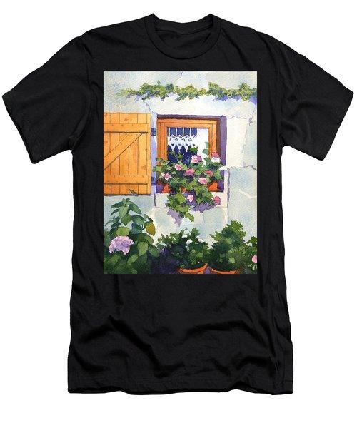 Window At St Saturnin Men's T-Shirt (Athletic Fit)