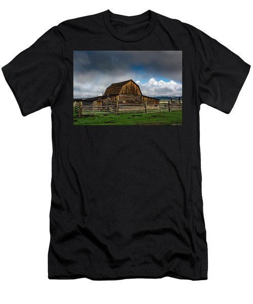 Men's T-Shirt (Athletic Fit) featuring the photograph Window In The Storm by Scott Read