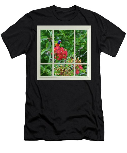 Window Of Nature By Kaye Menner Men's T-Shirt (Athletic Fit)