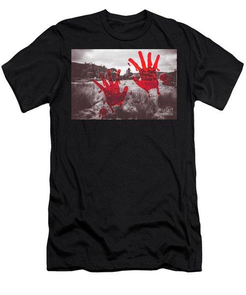 Window Pain Men's T-Shirt (Athletic Fit)