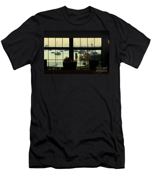 Window Painting Men's T-Shirt (Athletic Fit)