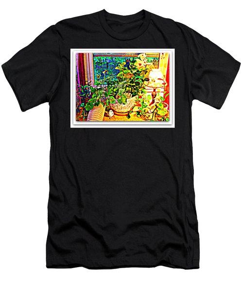 Window Plant Men's T-Shirt (Athletic Fit)