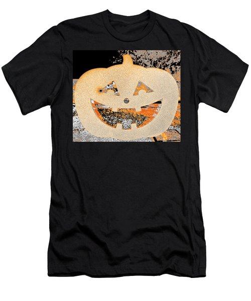 Window Pumpkin #3 Men's T-Shirt (Athletic Fit)