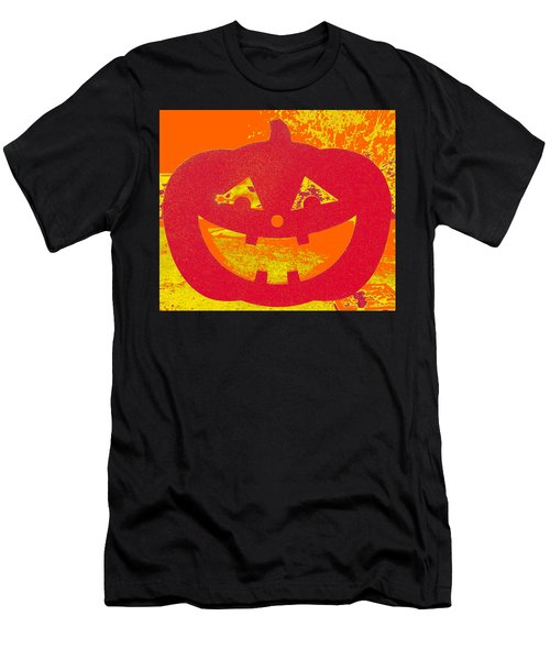 Window Pumpkin #4 Men's T-Shirt (Athletic Fit)