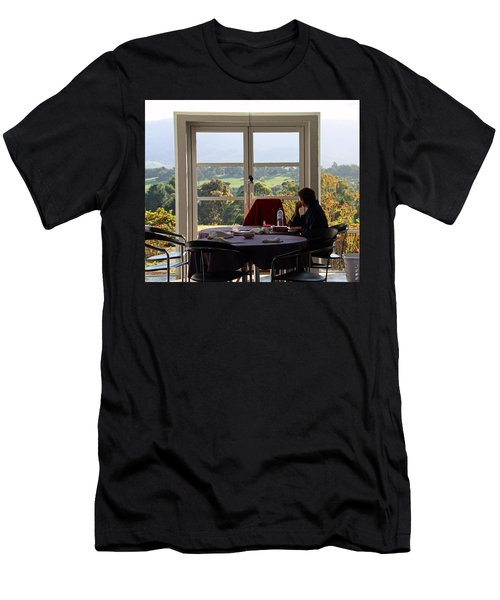 Window To The World Men's T-Shirt (Athletic Fit)