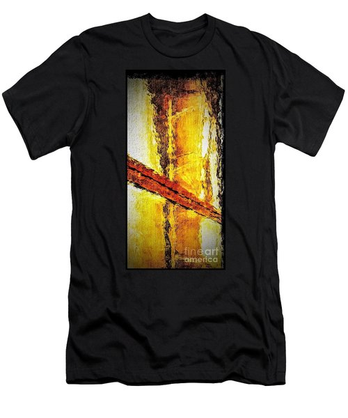 Men's T-Shirt (Slim Fit) featuring the photograph Window by William Wyckoff