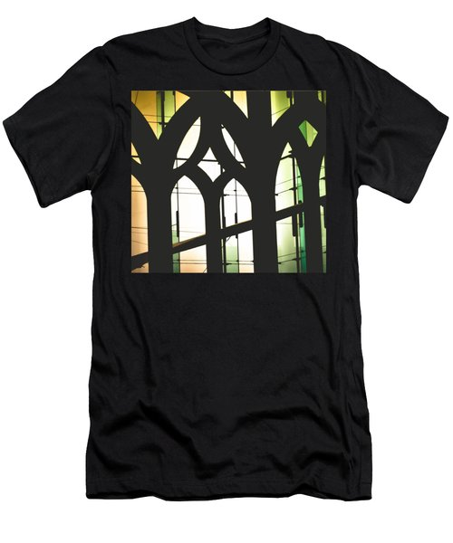 Windows Men's T-Shirt (Slim Fit) by Melissa Godbout