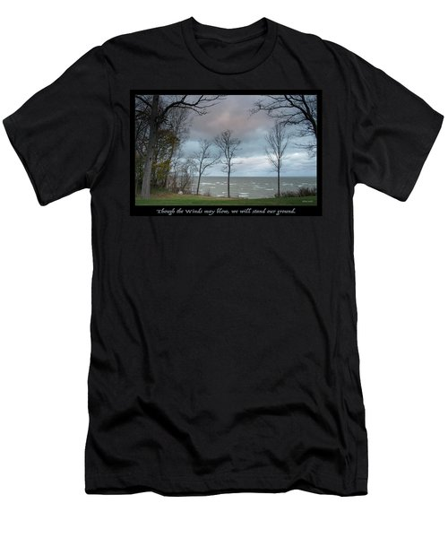 Winds May Blow Men's T-Shirt (Athletic Fit)