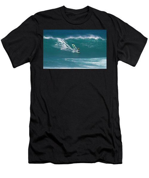 Windsurfer At Hookipa, Maui Men's T-Shirt (Athletic Fit)