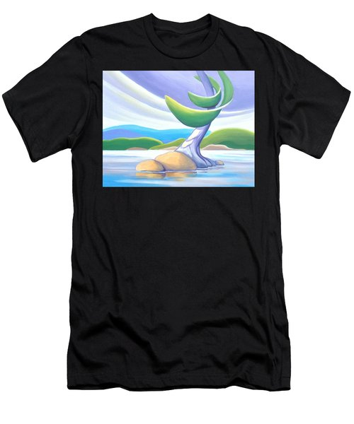 Windswept Men's T-Shirt (Athletic Fit)