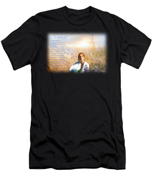 Windswept Poem Men's T-Shirt (Athletic Fit)