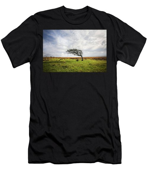Windswept Tree Men's T-Shirt (Athletic Fit)