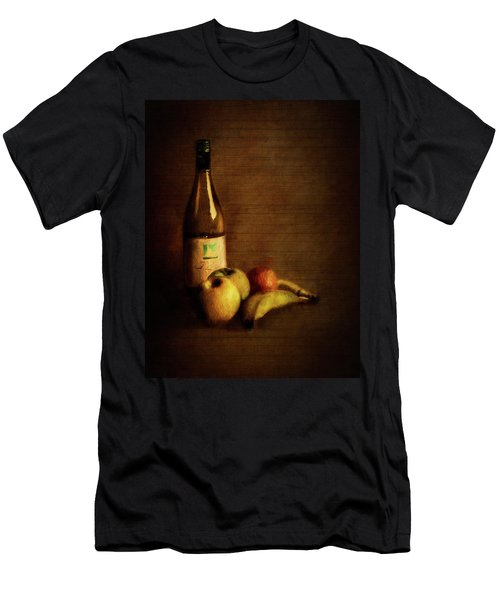 Wine And Fruit Men's T-Shirt (Athletic Fit)