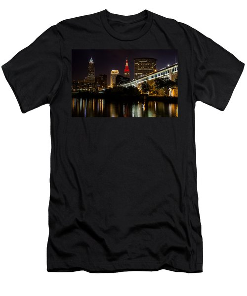 Wine And Gold In Cleveland Men's T-Shirt (Athletic Fit)