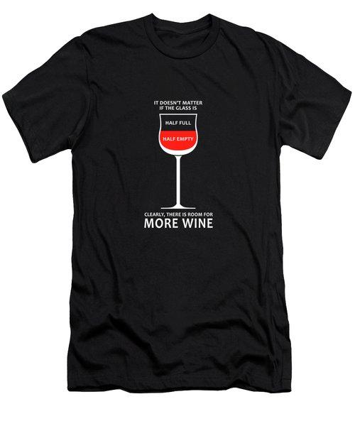 Wine Glasses 1 Men's T-Shirt (Athletic Fit)