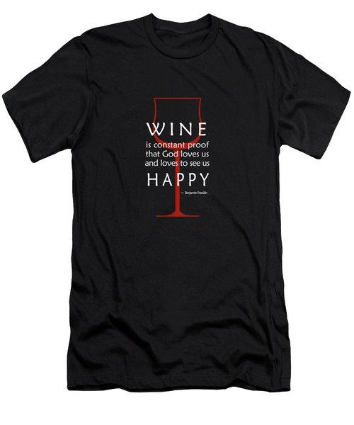 Wine Glasses 2 Men's T-Shirt (Athletic Fit)