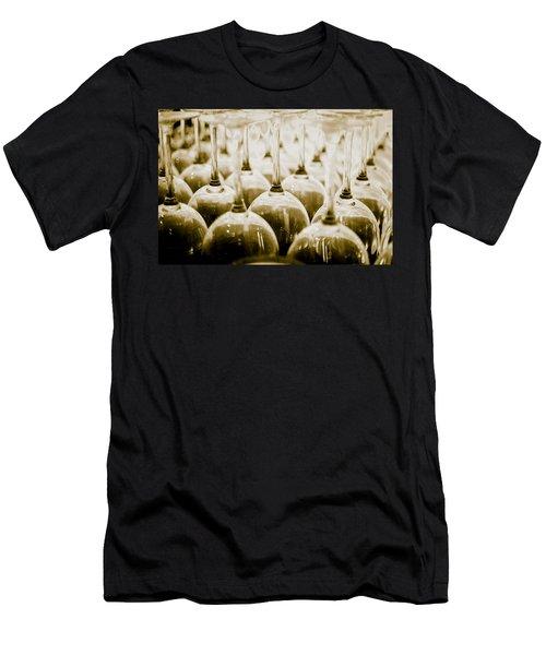 Wine Glasses Men's T-Shirt (Athletic Fit)