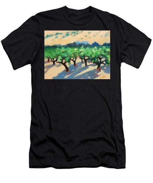 Wine Habitat Men's T-Shirt (Athletic Fit)
