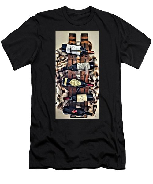 Wine Rack Men's T-Shirt (Athletic Fit)