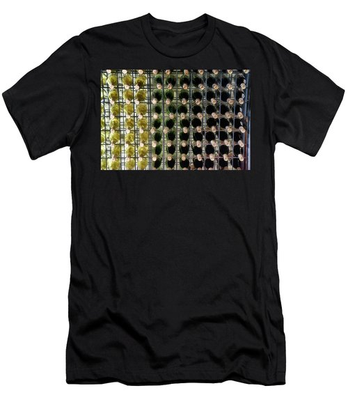 Wine Rack With Bottles Pa 03 Men's T-Shirt (Athletic Fit)