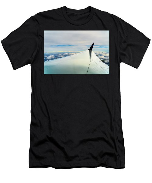 Wing And Clouds Men's T-Shirt (Athletic Fit)