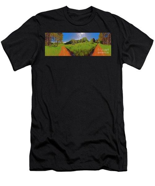 Wingate, Prairie, Pines Trail Men's T-Shirt (Athletic Fit)