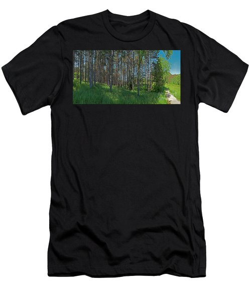 Wingate Prairie Veteran Acres Park Pines Crystal Lake Il Men's T-Shirt (Athletic Fit)