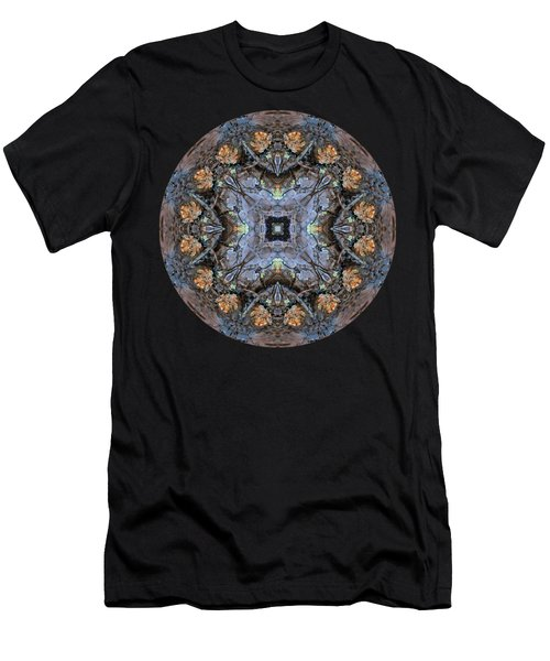 Winged Creatures In A Star Kaleidoscope #2 Men's T-Shirt (Athletic Fit)