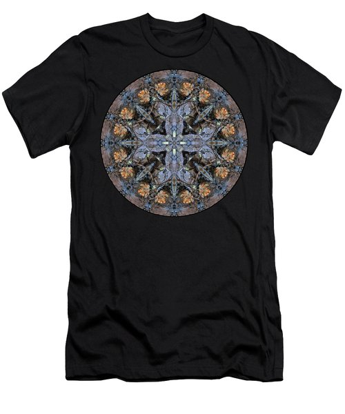 Winged Creatures In A Star Kaleidoscope #3 Men's T-Shirt (Athletic Fit)
