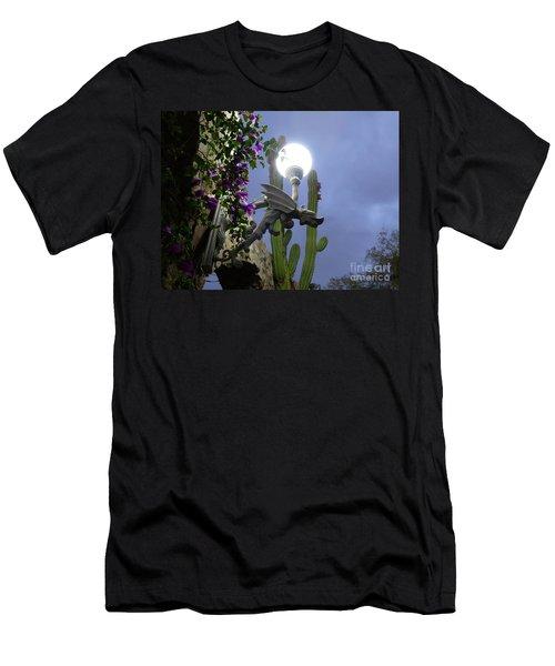 Winged Gargoyle In El Fuerte Men's T-Shirt (Athletic Fit)