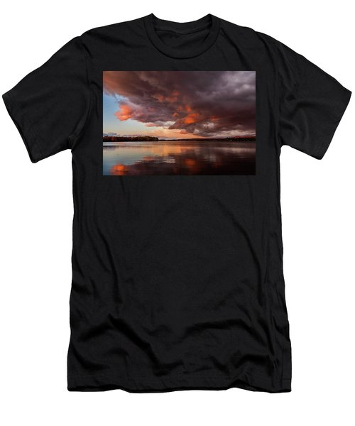 Winnisquam Sunset Men's T-Shirt (Athletic Fit)