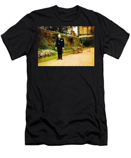 Winston Churchill, 1943 Men's T-Shirt (Athletic Fit)