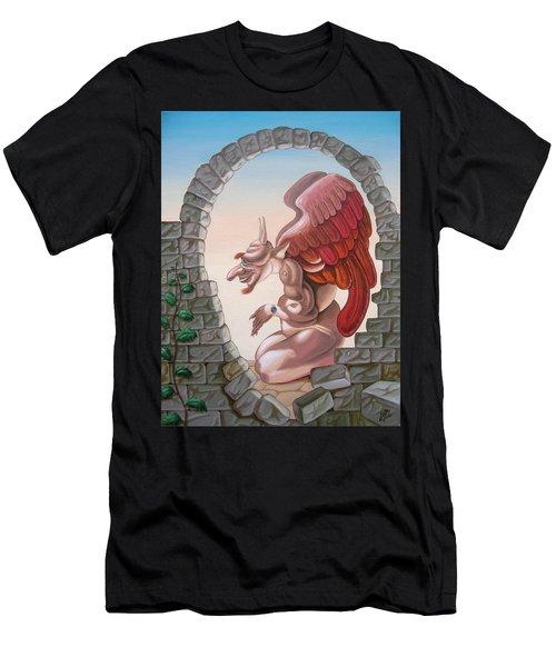 Winston Churchill, Men's T-Shirt (Athletic Fit)