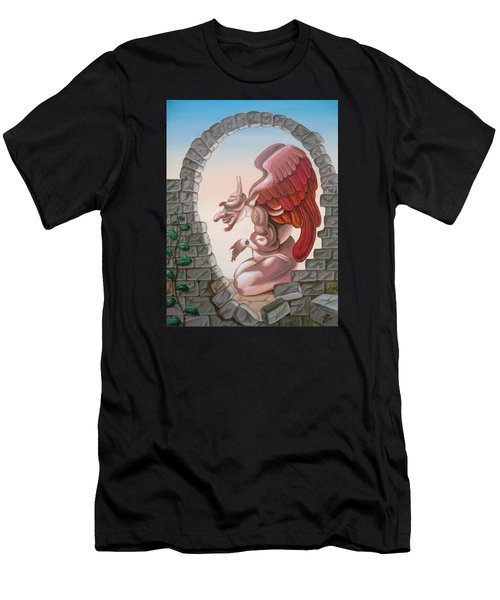 Winston Churchill, Men's T-Shirt (Athletic Fit)