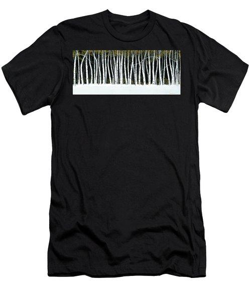 Winter Aspens II Men's T-Shirt (Athletic Fit)
