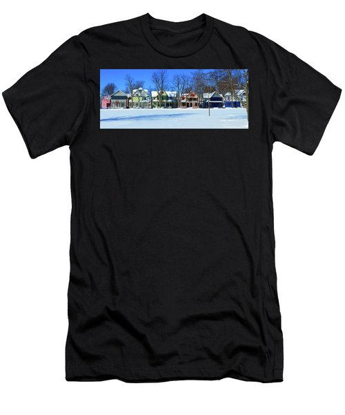 Winter At Ti Park Men's T-Shirt (Athletic Fit)