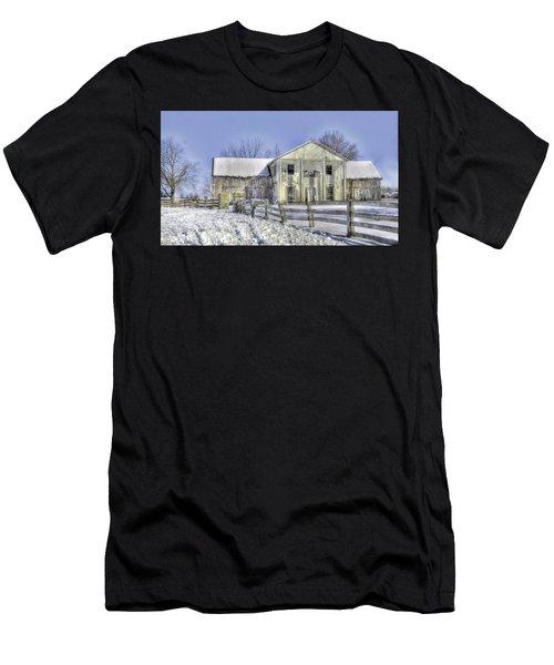 Winter Barn 3 Men's T-Shirt (Athletic Fit)