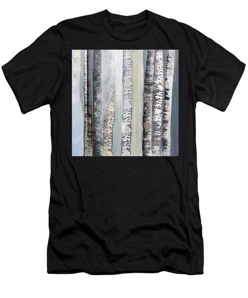 Winter Birches Men's T-Shirt (Athletic Fit)