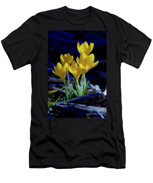 Winter Bloom Men's T-Shirt (Athletic Fit)